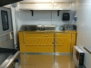 Interior concession trailer 2