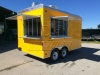 Yellow concession trailer 1
