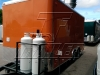 Orange 16ft concession trailer - exterior 5