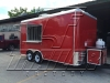Red 16ft concession trailer exterior 5