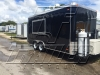 Black 16ft concession trailer exterior 5
