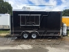 Black 16ft concession trailer exterior 4