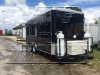 Black 16ft concession trailer exterior 3