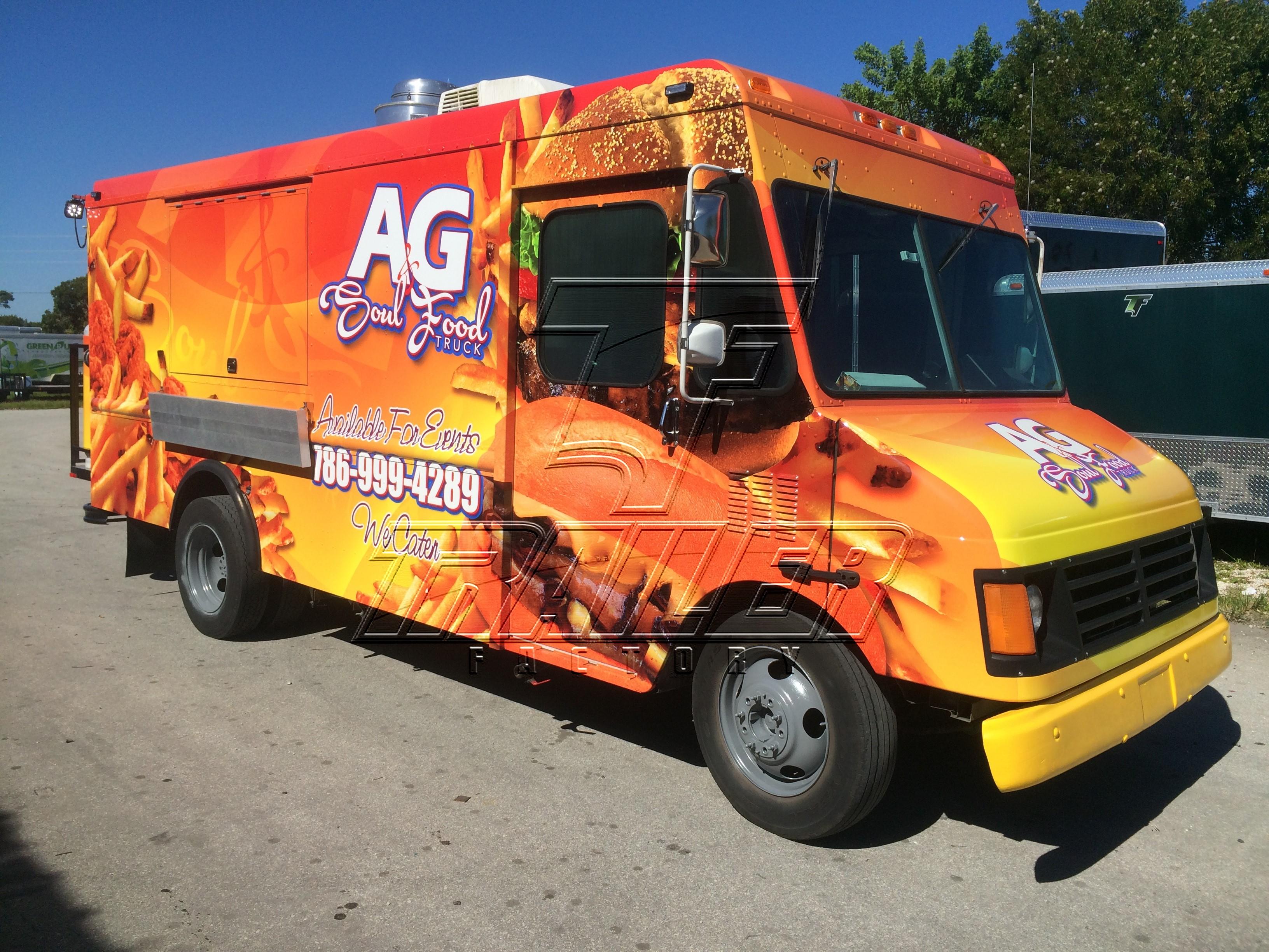 Food Sale: New Food Trucks & Trailers