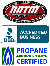 Better Business Bureau, Propane Certified Trailer and Food Truck Manufacturer