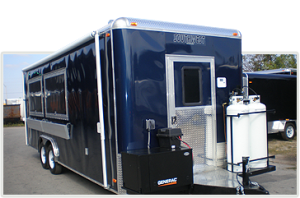 custom concession trailers