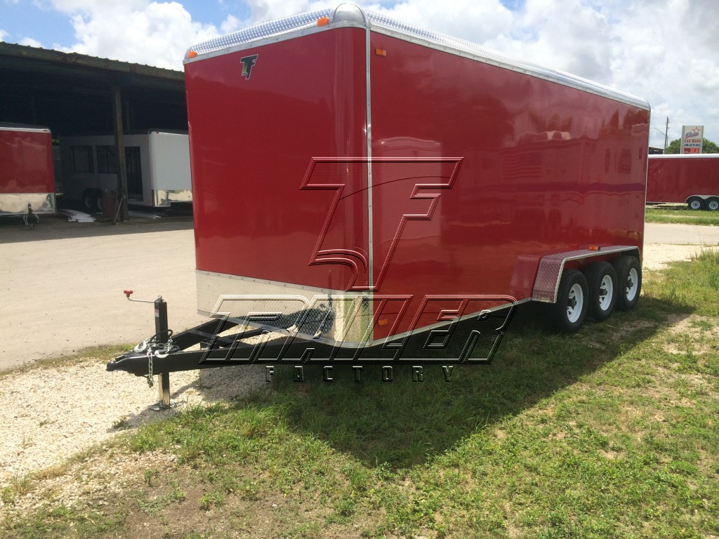 7x20 Triple Axle Cargo Trailer Trailer Factory