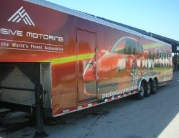 enclosed car trailers